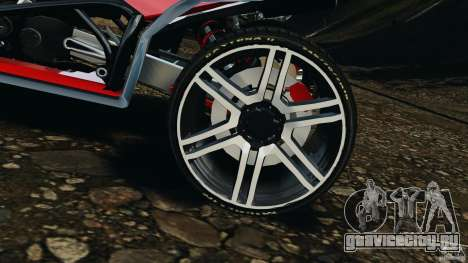 ATV PCJ Sport для GTA 4 вид изнутри