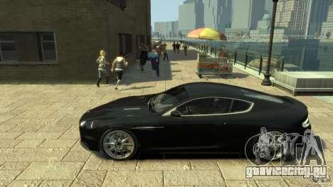 Aston Martin DBS Coupe v1.1f для GTA 4 вид слева