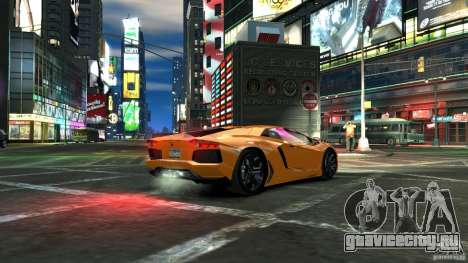 Lamborghini Aventador LP700-4 2011 EPM для GTA 4 вид слева