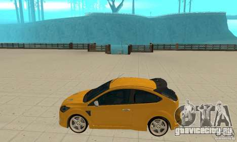 Ford Focus RS для GTA San Andreas вид слева