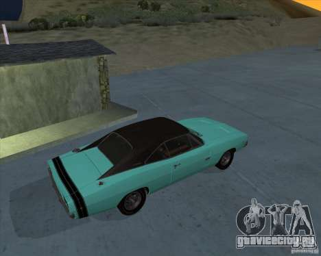 Dodge Charger RT HEMI 1968 для GTA San Andreas вид слева