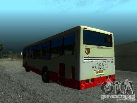 НефАЗ 5299 10-32 для GTA San Andreas вид сзади слева