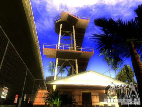 База Гроув стрит для GTA San Andreas седьмой скриншот
