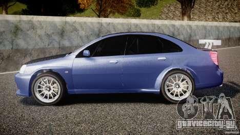 Chevrolet Lacetti WTCC Street Tun [Beta] для GTA 4 вид слева