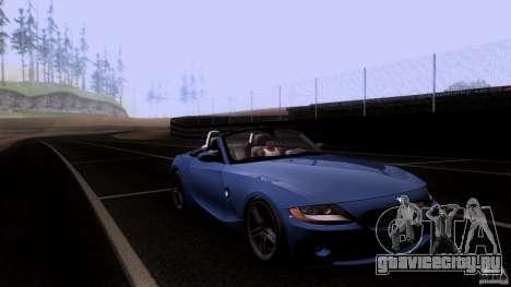 BMW Z4 V10 для GTA San Andreas вид сбоку