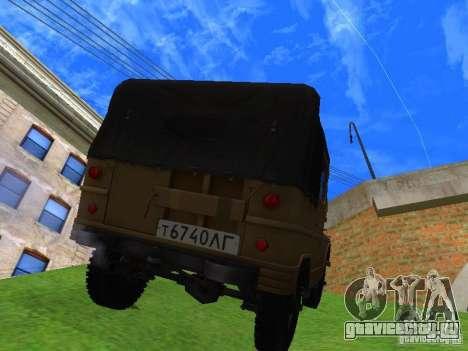 УАЗ 460 для GTA San Andreas вид слева