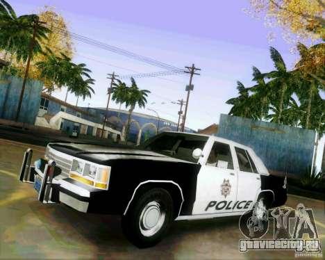Ford Crown Victoria LTD 1991 LVMPD для GTA San Andreas