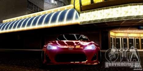 Scion FR-S для GTA San Andreas вид справа