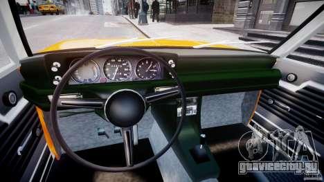 BMW 2002 1972 для GTA 4 вид сзади