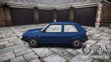 Volkswagen GOLF MK2 GTI для GTA 4 вид изнутри