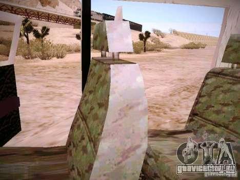 ГАЗ 310231 Скорая для GTA San Andreas вид сверху