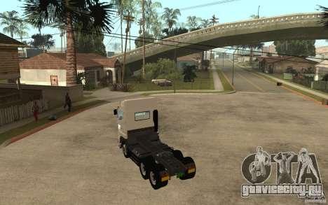 Hino 700 Series для GTA San Andreas вид сзади слева