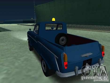 Москвич 430 Пикап Аэрофлот для GTA San Andreas вид слева