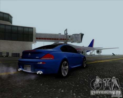 BMW 6 Series M для GTA San Andreas вид справа