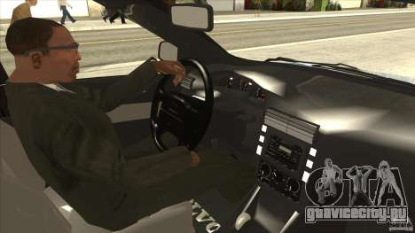 Volvo V40 - Stock для GTA San Andreas вид изнутри