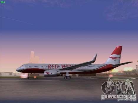 Tupolev Tu-204 Red Wings Airlines для GTA San Andreas вид слева