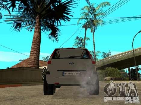 Ford Fusion 2009 для GTA San Andreas вид сзади слева