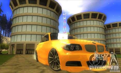 BMW 135i Coupe Custom для GTA San Andreas вид справа