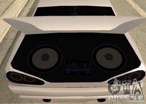 Elegy MIX v2 для GTA San Andreas вид сзади слева