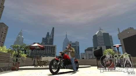 The Lost and Damned Bikes Nightblade для GTA 4 вид слева