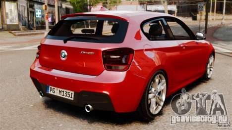 BMW M135i 2013 для GTA 4 вид слева