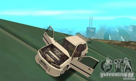 Honda Civic SiR II Tuning для GTA San Andreas вид сзади