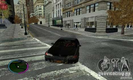 Honda CRX Tuned для GTA San Andreas вид слева