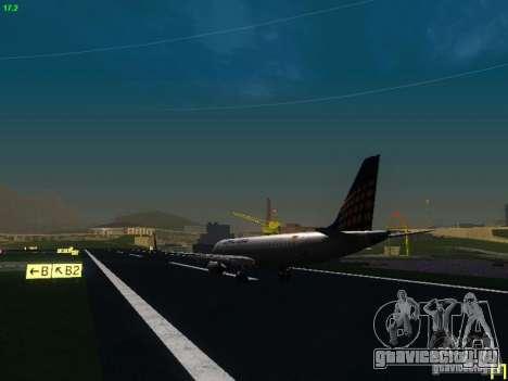 Embraer ERJ 190 Lufthansa Regional для GTA San Andreas вид справа