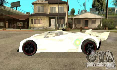 Mazda Furai для GTA San Andreas вид слева