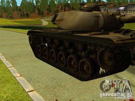 Танк T-110E5 для GTA San Andreas вид слева