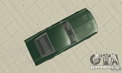 Ford Mustang Bullitt 1968 v.2 для GTA San Andreas вид справа