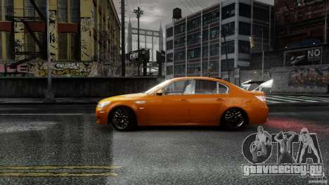BMW M5 e60 Emre AKIN Edition для GTA 4 вид слева