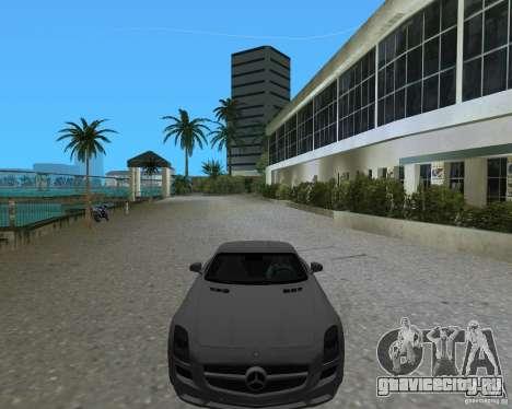 Mercedes Benz SLS AMG для GTA Vice City вид справа