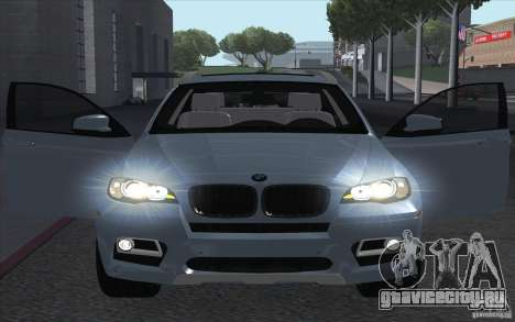 BMW X6M 2013 для GTA San Andreas вид справа