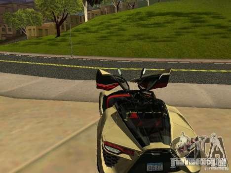Bertone Mantide для GTA San Andreas салон