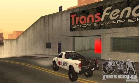 Dodge Power Wagon Paintjobs Pack 2 для GTA San Andreas вид сзади слева