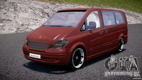 Mercedes-Benz Vito SportVIP для GTA 4