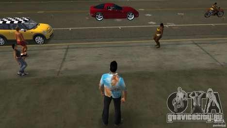 Royo Skin mit Brille для GTA Vice City второй скриншот