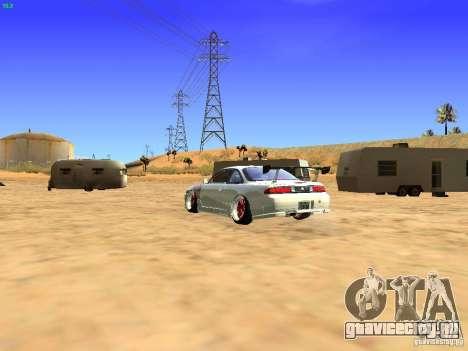 Nissan Silvia S14 JDM для GTA San Andreas вид слева