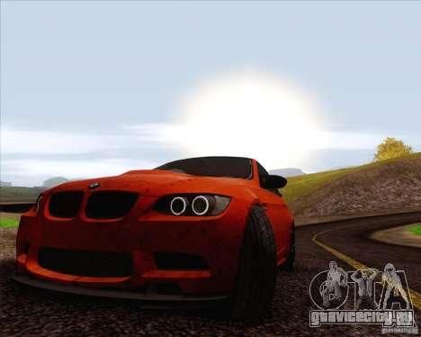 BMW M3 GT-S для GTA San Andreas вид сбоку