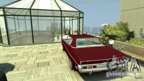 AMC Matador для GTA 4 вид сзади слева