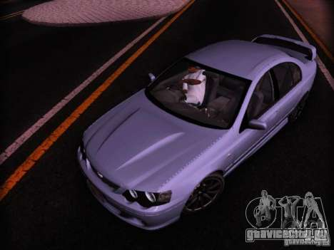 Ford Falcon FPV F6 TYPHOON XR8 2007 для GTA San Andreas вид сзади слева