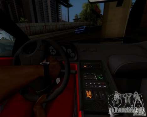 Lamborghini Diablo SV V1.0 для GTA San Andreas вид сверху