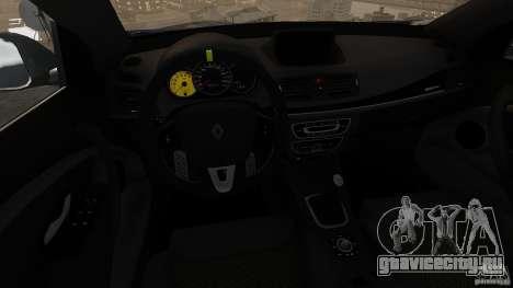 Renault Megane RS 250 для GTA 4 вид сверху