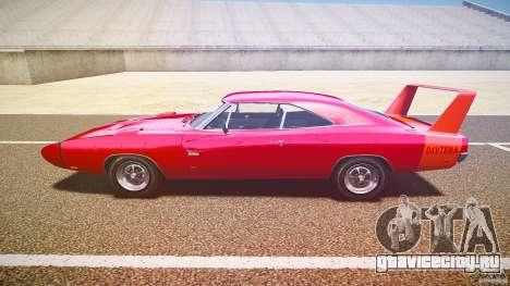 Dodge Charger Daytona 1969 [EPM] для GTA 4 вид слева