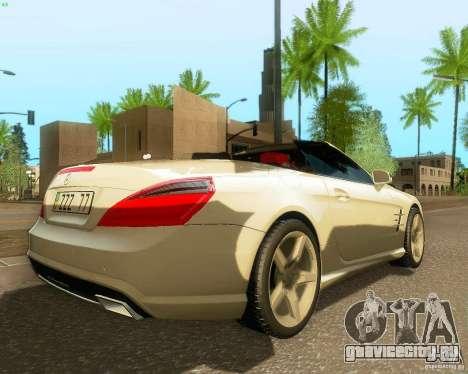 Mercedes-Benz SL350 2013 для GTA San Andreas вид справа