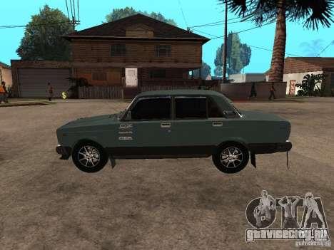 ВАЗ 21074 для GTA San Andreas вид сзади слева