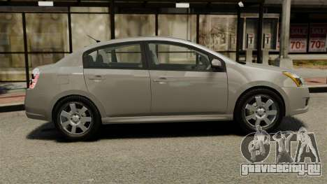 Nissan Sentra S 2008 для GTA 4 вид слева