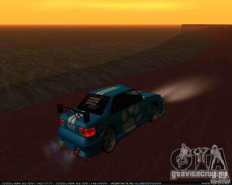 Новые винилы на Sultan для GTA San Andreas вид справа