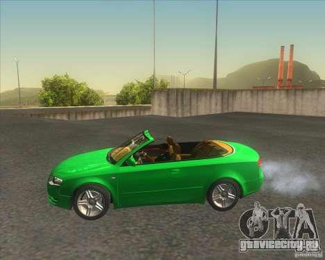 Audi A4 Convertible 2005 для GTA San Andreas вид слева